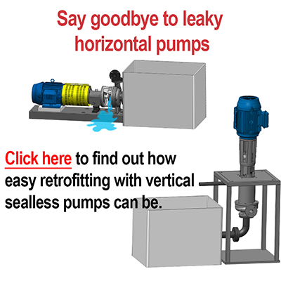 Say Goodbye to leaky horizontal pumps